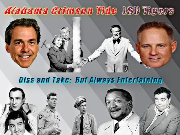 Alabama LSU Diss and Take