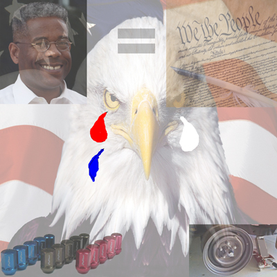 Is Allen West bigger than the Constitution?