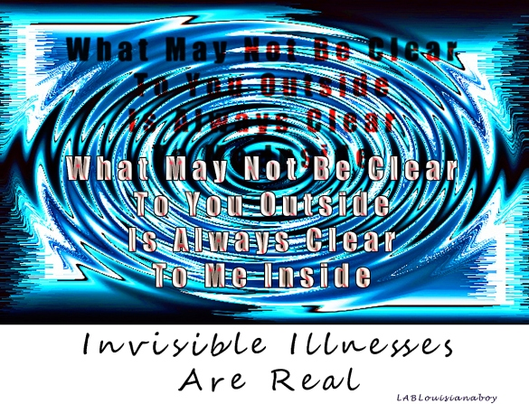 Invisible and Chronic Illness Awareness