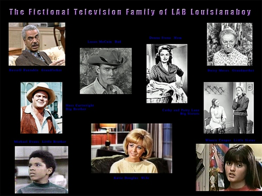The Fictional TV Family Members