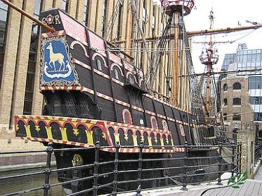 Sir Francis Drake's Golden Hind