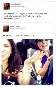 Bristol Palin WTF Tweet