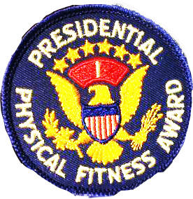 Presidential Physical Fitness Award Patch