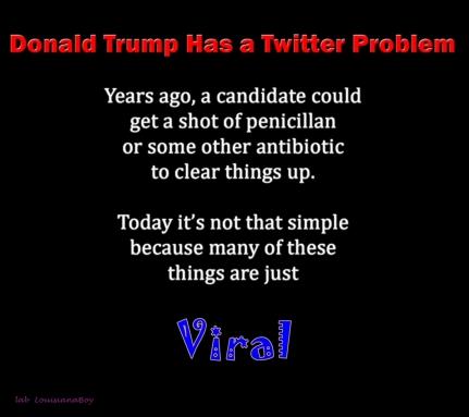 Donald Trump Has a Twitter Problem